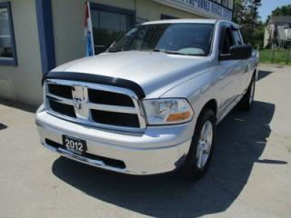 Used 2012 Dodge Ram 1500 WORK READY SLT MODEL 6 PASSENGER 5.7L - HEMI.. 4X4.. QUAD-CAB.. SHORTY.. CD/AUX INPUT.. TOW SUPPORT.. KEYLESS ENTRY.. for sale in Bradford, ON
