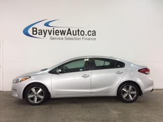 Used 2018 Kia Forte LX+ - ALLOYS! HTD SEATS! A/C! REV CAM! CRUISE! for sale in Belleville, ON