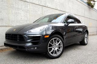 Used 2017 Porsche Macan S S model, twin turbo V6, PDK trans. 1 owner, local for sale in Vancouver, BC