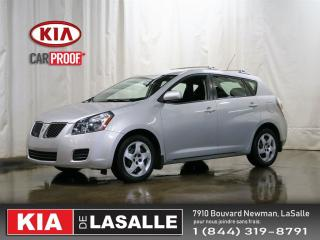 Used 2010 Pontiac Vibe for sale in Lasalle, QC
