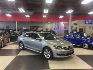 Used 2014 Volkswagen Passat 1.8 TSI COMFORTLINE AUTO LEATHER SUNROOF 67K for sale in North York, ON