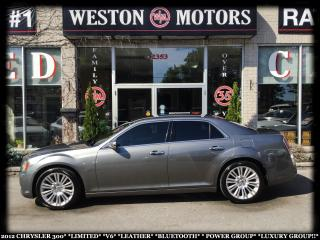 Used 2012 Chrysler 300 LMTD*V6*LEATHER*BTOOTH*LUXURY GROUP!!* for sale in Toronto, ON