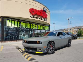 Used 2018 Dodge Challenger R/T 392 Scat Pack Shaker PROOF NAVI 20 BLK WLS for sale in Scarborough, ON