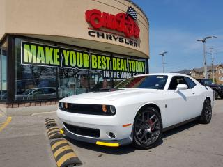 Used 2018 Dodge Challenger R/T 392 Scat Pack Shaker P-ROOF NAVI BLK WLS 485HP for sale in Scarborough, ON