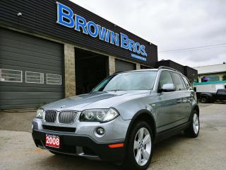 Used 2008 BMW X3 3.0I, AWD, HTD SEATS, for sale in Surrey, BC