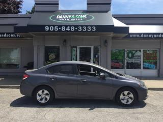 Used 2014 Honda Civic LX for sale in Mississauga, ON