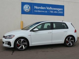 New 2018 Volkswagen Golf GTI GTI Autobahn for sale in Edmonton, AB