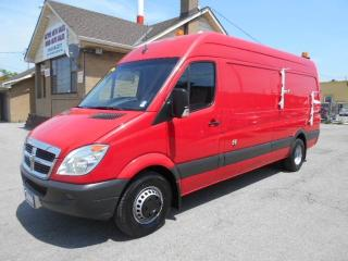Used 2009 Dodge Sprinter Fiber Splice Van 1Ton Dually High Roof ONLY 114Km for sale in Etobicoke, ON
