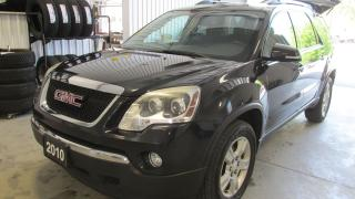 Used 2010 GMC Acadia SLE2 for sale in Chatsworth, ON