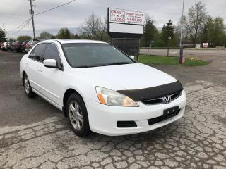 Used 2007 Honda Accord SE for sale in Komoka, ON