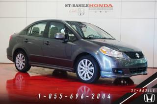Used 2011 Suzuki SX4 Berline Sport + MANUELLE + MAGS + VOLANT for sale in St-Basile-le-Grand, QC