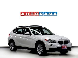 Used 2013 BMW X1 NAVIGATION LEATHER PAN SUNROOF 4WD ALLOY WHEELS for sale in North York, ON