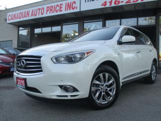 Used 2015 Infiniti QX60 TECH-PKG-NAVIGATION-360-CAM-7-PASSENGER-LOADED for sale in Scarborough, ON