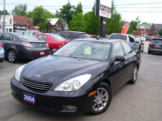 Used 2004 Lexus ES 330 FULLY LOADED,NAVI,LEATHER,ALLOYS for sale in Kitchener, ON