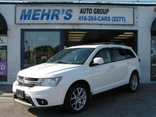 Used 2012 Dodge Journey SXT V6 Loaded Sunroof No Accident Well Maintained for sale in Scarborough, ON
