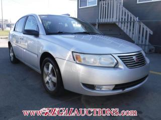 Used 2007 Saturn ION  4D SEDAN for sale in Calgary, AB
