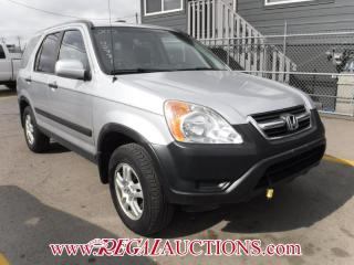 Used 2003 Honda CR-V 4D Utility 4WD for sale in Calgary, AB
