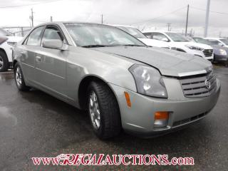 Used 2004 Cadillac CTS BASE 4D SEDAN for sale in Calgary, AB