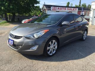 Used 2013 Hyundai Elantra Limted/Auto/Bluetooth/Leather/Sunroof/Remote Start for sale in Scarborough, ON