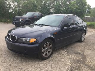 Used 2002 bmw * leather 325I 4DOORS for sale in London, ON