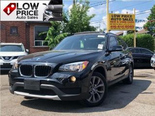 Used 2014 BMW X1 *AllPowerOpti*HtdSeats*PowerSeats*FullOpti* for sale in York, ON