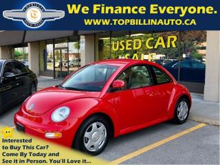 Used 1998 Volkswagen New Beetle Base 2.0L for sale in Concord, ON