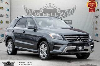 Used 2013 Mercedes-Benz ML-Class ML 350 BlueTEC, AWD, NAVI, REAR CAM, B.SPOT, COLLISION PREV for sale in Toronto, ON