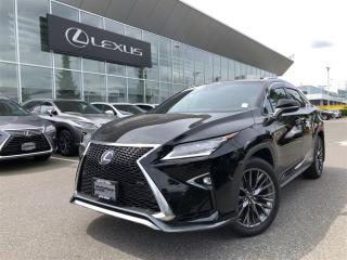 Used 2017 Lexus RX 450h F SPORT SERIES 3 for sale in Surrey, BC