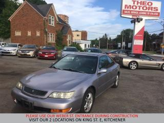 Used 1998 Acura CL 2.3 | YOU CERTIFY YOU SAVE for sale in Kitchener, ON
