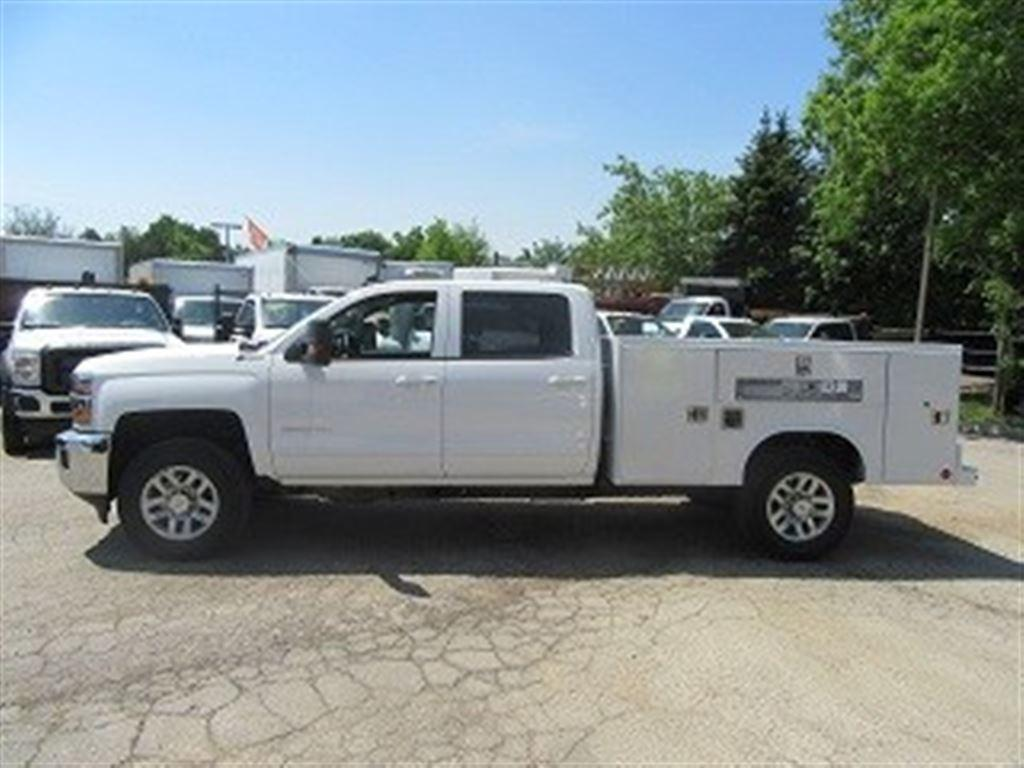 Used 2017 Chevrolet Silverado 3500 Crew Cab Gas 4x4 For Sale