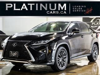Used 2016 Lexus RX 350 F-SPORT, NAVI, HEADS UP DISP, BLINDSPOT, CAM for sale in North York, ON