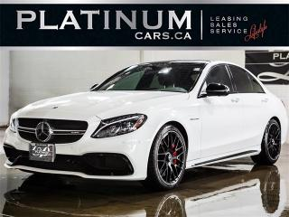 Used 2017 Mercedes-Benz C63 AMG S-MODEL, 503HP, NAVI, BURMESTER, CAM for sale in Toronto, ON