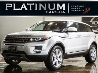 Used 2012 Land Rover Evoque PURE PLUS, PANO ROOF, CAMERA, HEATED LEATHER for sale in North York, ON