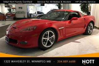 Used 2012 Chevrolet Corvette Grand Sport 6.2L V8 Navigation for sale in Winnipeg, MB