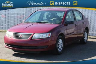 Used 2005 Saturn Ion 4DR SDN 1 BASE for sale in Sainte-rose, QC