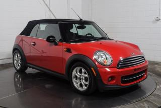 Used 2013 MINI Cooper CONVERTIBLE Decapotable Cuir for sale in St-Constant, QC