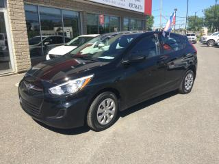 Used 2017 Hyundai Accent Voiture à hayon, 5 portes, boîte manuell for sale in Sorel-Tracy, QC