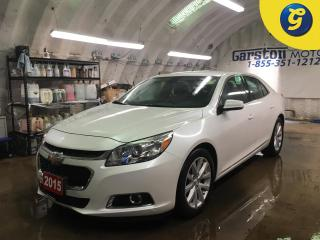 Used 2015 Chevrolet Malibu 2LT*KEYLESS ENTRY w/REMOTE START*MY LINK PHONE CONNECT*POWER DRIVER SEAT*DUAL ZONE CLIMATE CONTROL* for sale in Cambridge, ON