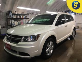 Used 2014 Dodge Journey SE PLUS*KEYLESS ENTRY*POWER WINDOWS/LOCKS/HEATED MIRRORS*DUAL ZONE CLIMATE CONTROL*CRUISE CONTROL*PUSH BUTTON IGNITION* for sale in Cambridge, ON