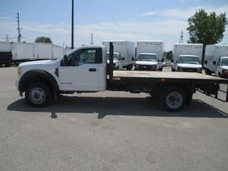 Used 2017 Ford F-550 REG,CAB.12 FT.DEL FLAT BED BODY. for sale in London, ON