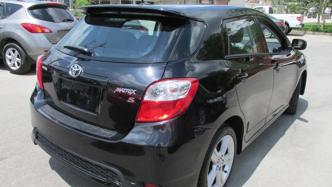 2011 Toyota Matrix Sport
