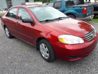 Used 2004 Toyota Corolla CE for sale in Kars, ON
