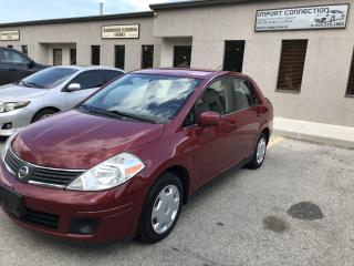Used 2008 Nissan Versa 1.8 S,AUTOMATIC with A/C for sale in Burlington, ON
