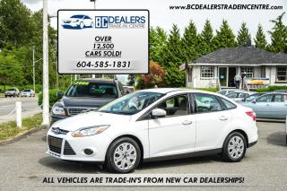 Used 2013 Ford Focus SE Sedan, New Bodytyle, Bluetooth, 51,000 km's! for sale in Surrey, BC