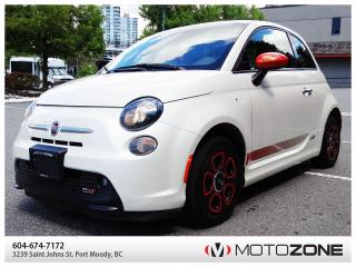 Used 2015 Fiat 500 e for sale in Port Moody, BC