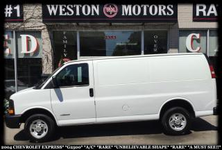 Used 2004 Chevrolet Express G2500*A/C*UNBELIEVABLE SHAPE*RARE*A MUST SEE!!* for sale in York, ON