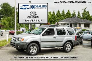 Used 2001 Nissan Xterra SE 4x4, Local, Clean, Sunroof, Alloys, Loaded! for sale in Surrey, BC