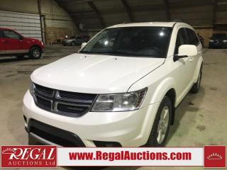 Used 2012 Dodge Journey SXT 4D Utility for sale in Calgary, AB