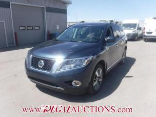 Used 2014 Nissan PATHFINDER PLATINUM 4D UTILITY 7PASS 3.5L for sale in Calgary, AB