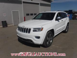 Used 2015 Jeep GRAND CHEROKEE OVERLAND 4D UTILITY 4WD 3.0L for sale in Calgary, AB